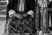 Ολυμπίτισα με παραδοσιακή φορεσιά