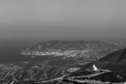 Από τα Σπόα προς το Απέρι με θέα τα Πηγάδια