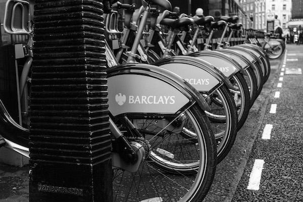 ποδήλατα στο Covent Garden